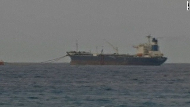 U.S. Navy SEALs boarded the Morning Glory -- which was carrying Libyan oil -- in international waters off Cyprus.
