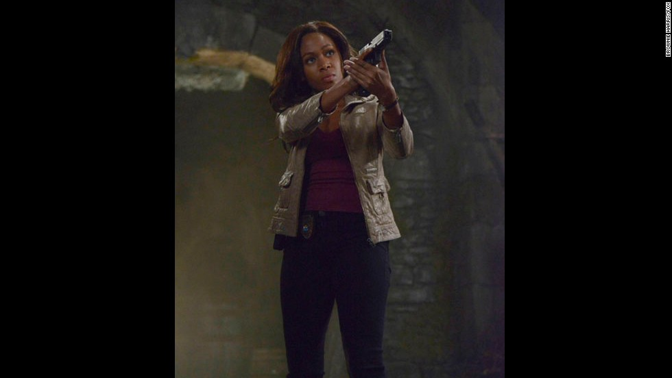 "When is the last time a black actress played an action lead in a horror story? Actress Nicole Beharie pulls it off in the hit TV series ""Sleepy Hollow"" as a small-town police officer forced to battle supernatural evil."