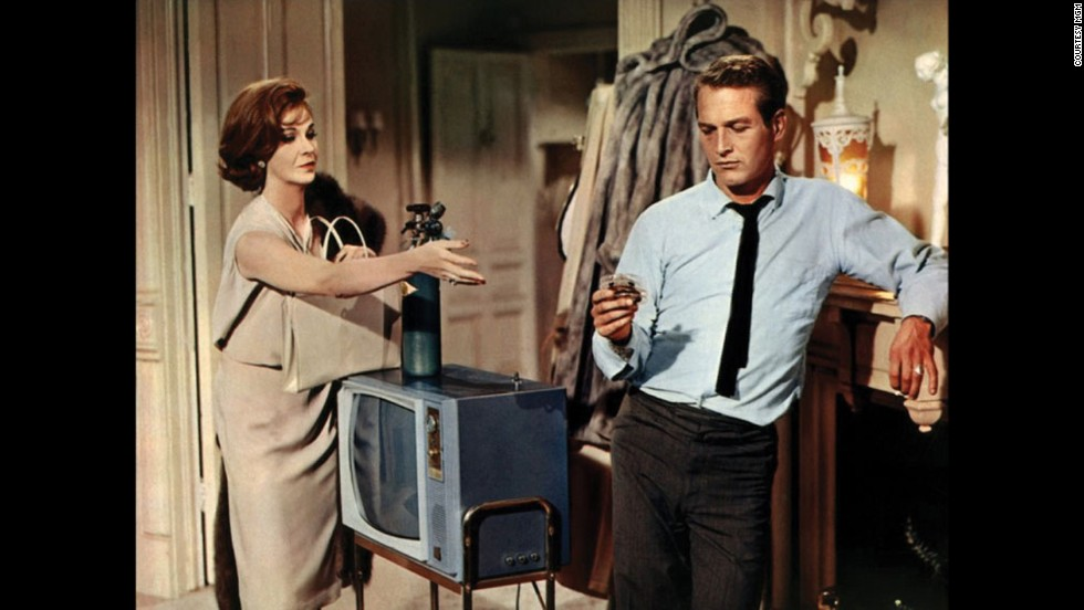 "Geraldine Page and Paul Newman appeared in ""Sweet Bird of Youth"" in 1962."