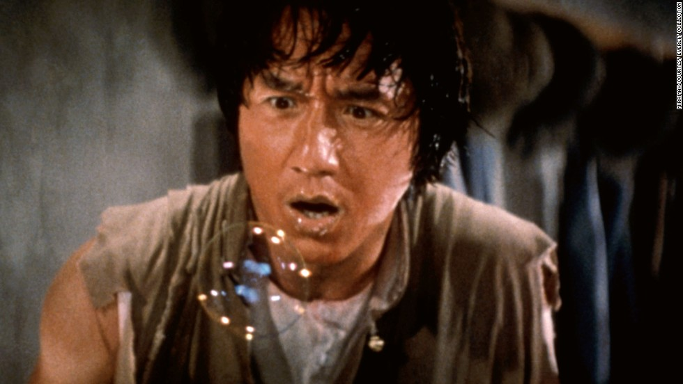 """The Legend of Drunken Master"" from 1994 stars martial artist Jackie Chan."
