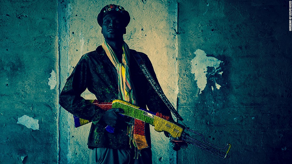 <strong>CNN: What about the Kalashnikov makes it so popular?</strong><br /><strong><br />RZ: </strong>The Kalashnikov was very much the weapon of choice and a potent symbol of the armed struggle.  I remember in the 90's in the run up to the first democratic election that protesters would make crude replica weapons out of wood or wire and brandish them as they marched. Thousands of marchers would belt out protests songs about the AK-47 and its potential for death and liberation as they toyi-toyi'ed through the streets.