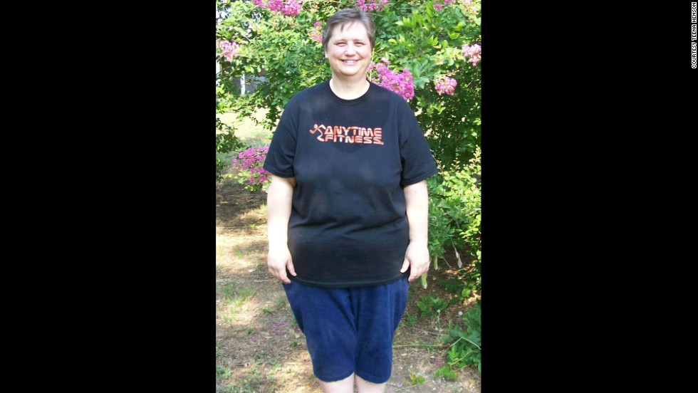 By June 2012, she had lost 100 pounds by working out daily at a new gym in her hometown of Gilmer, Texas.
