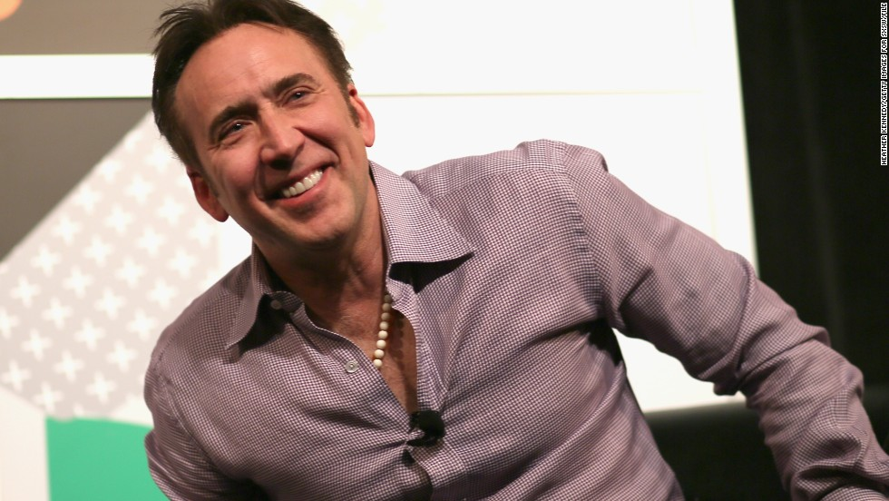 "Fans of ""Peggy Sue Got Married"" and ""Moonstruck"" may find it hard to believe, but Nicolas Cage turned 50 in January."
