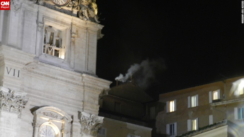 "Camaya remembers the night white smoke poured from the Vatican chimney, signaling that a new pope had been chosen. ""This was one event that left me teary-eyed and thanking God for making me a Catholic,"" he said."