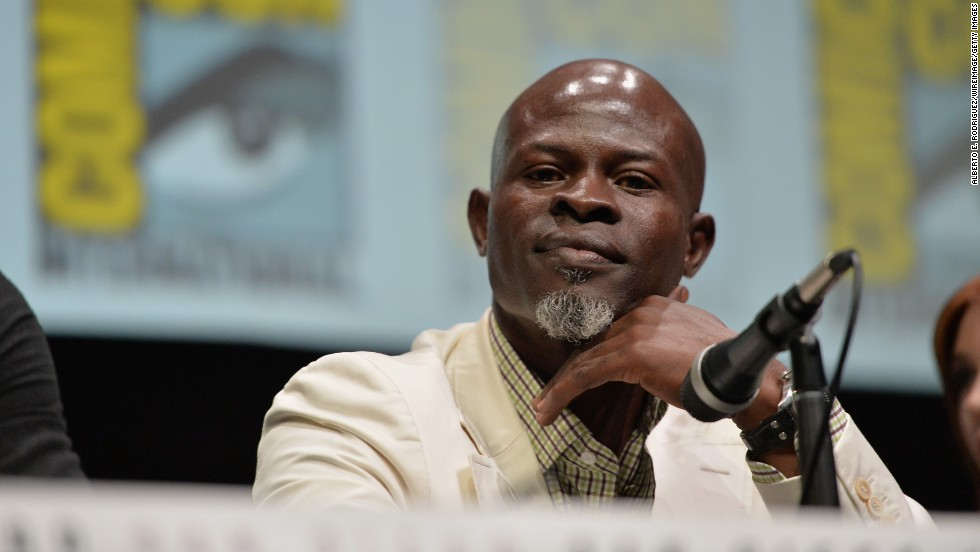 "Actor Djimon Hounsou, star of ""Amistad"" and ""Guardians of the Galaxy,"" turned 50 on April 24."