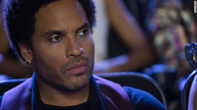 "Rocker Lenny Kravitz starred as Cinna in the two of the ""Hunger Games"" films."