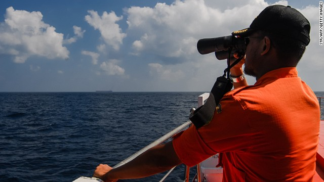 Missing jet search area doubled