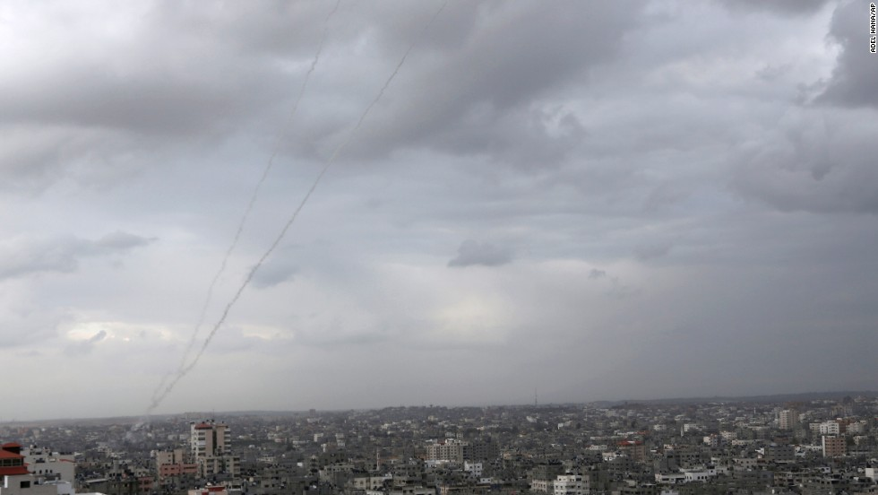 Israel fires on 29 'terror sites' after rockets from Gaza hit populated areas