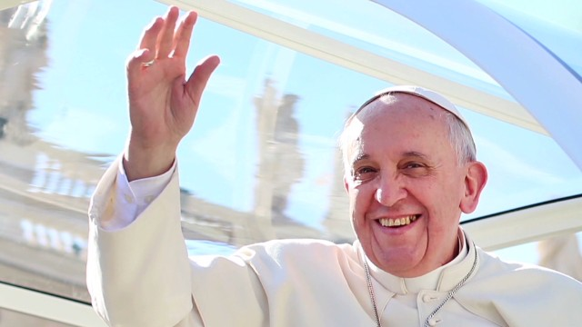 'Rock star' pope shakes up Vatican