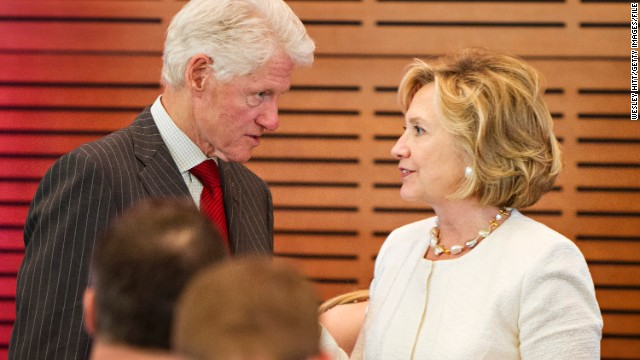 Clinton: Wife may run for 'something'