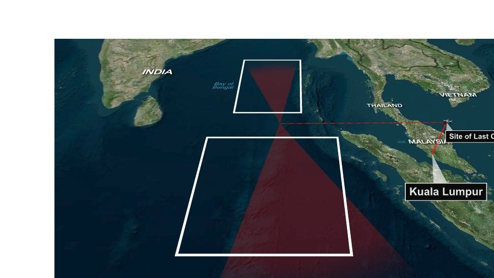 CNN Exclusive: Analysis shows two possible Indian Ocean paths for airliner