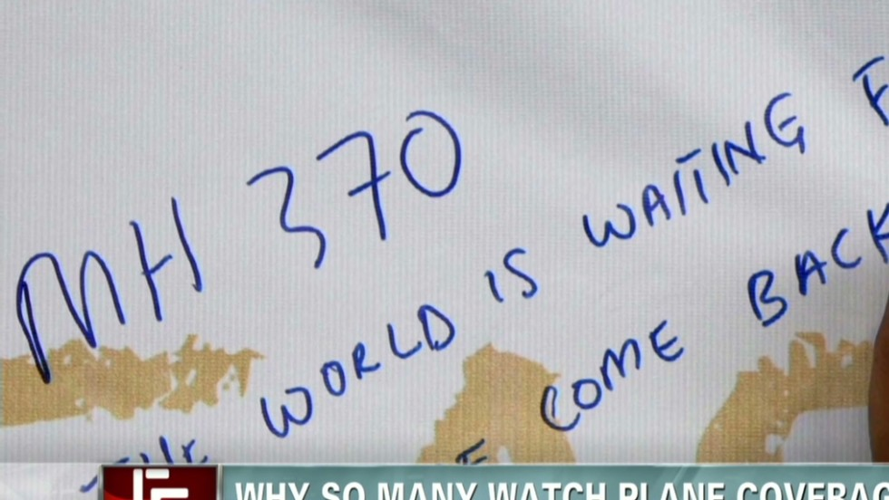 Why we are glued to plane coverage - CNN Video