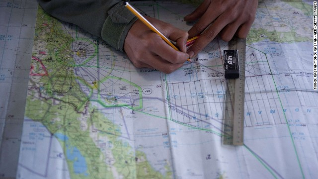 Flight 370: The search in the ocean