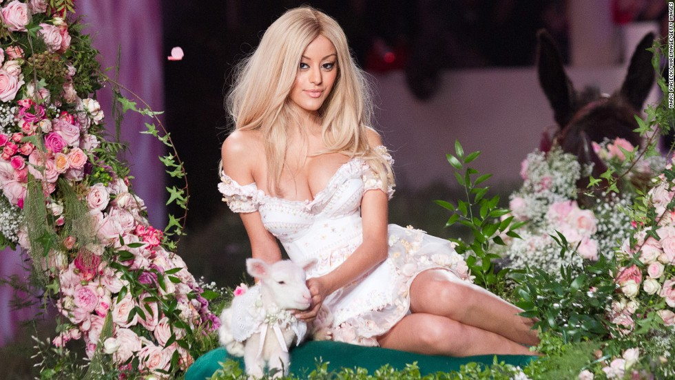 "French designer and Karl Lagerfeld's muse/protege Zahia Dehar shows collections in Paris, but she's also been embroiled in an underage prostitution scandal. In 2010, she was linked to a <a href=""http://www.cnn.com/2010/SPORT/football/07/21/france.soccer.stars.probe/index.html"">sex-for-money case </a>that tarnished the reputation of one of France's most beloved soccer stars, Franck Ribery. (He allegedly paid for sex with her when she was under 18, which is illegal in France.) Another French soccer hero, Karim Benzema, was also alleged to have purchased her services while she was underage."