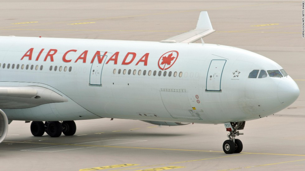 Turbulence causes injuries on Air Canada flight