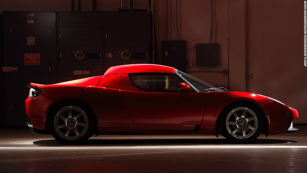 Tesla Roadster is the world's fastest electric sports car.