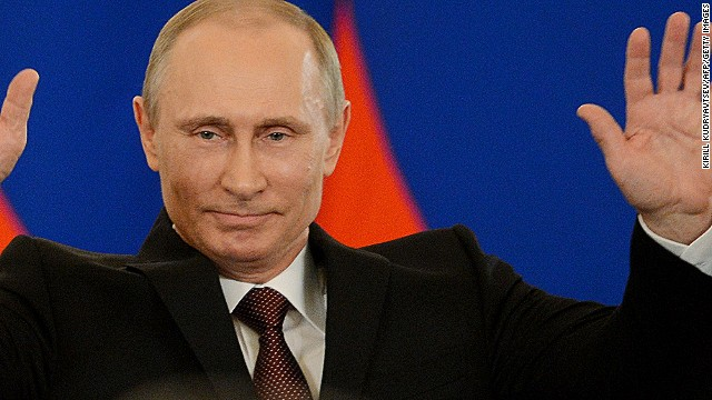 Putin: Crimea part of Russia
