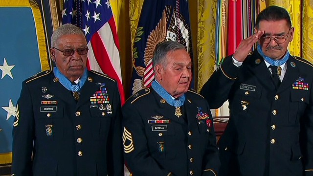 Veterans receive belated Medals of Honor
