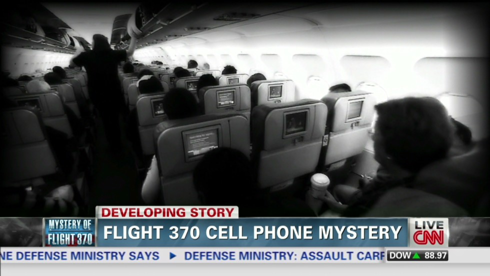 Why were there no phone calls from Malaysia Airlines Flight 370?