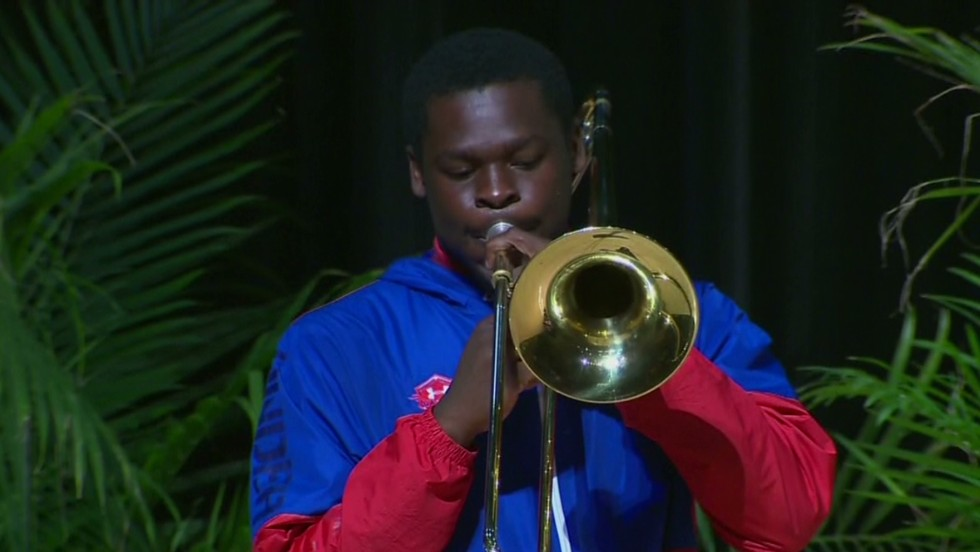 Multitalented teen gets 150 scholarships - CNN Video