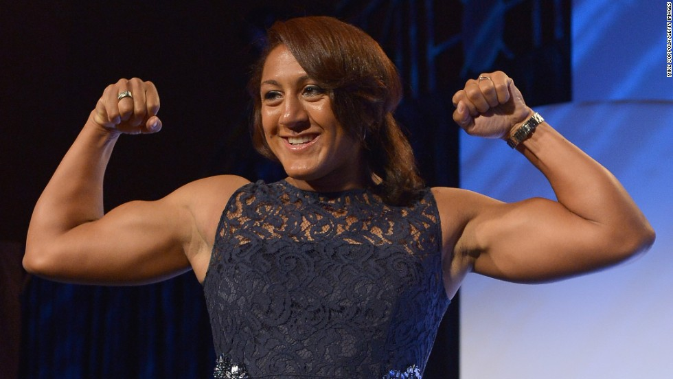 U.S. Winter Olympian Elana Meyers was told she had the perfect build for rugby sevens, so opted to make the switch.