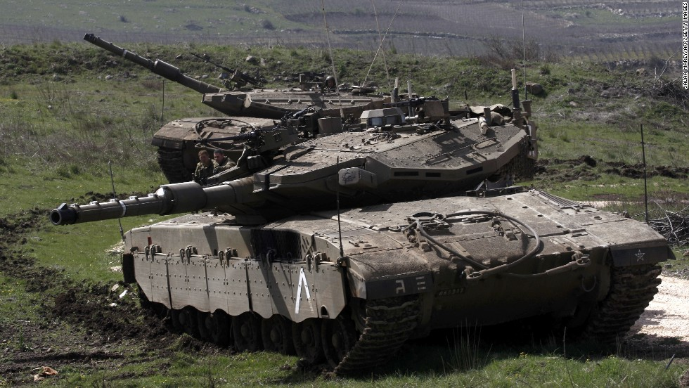 Israel retaliates in Syria after roadside bomb attack against Israeli troops