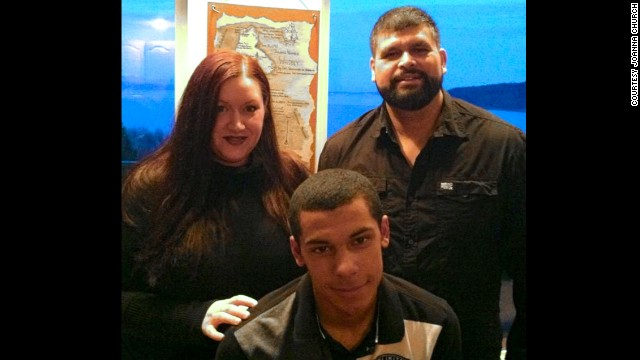 Joanna and Sean expect their adoption of Deon to become final next week.