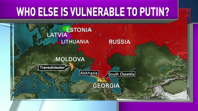 Who else is vulnerable to Putin?