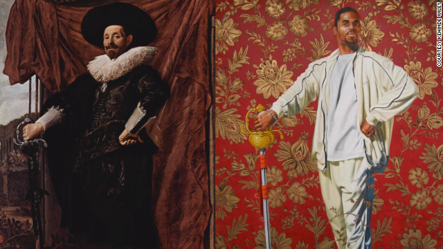 Kehinde Wiley chosen to paint Obama's official portrait ...