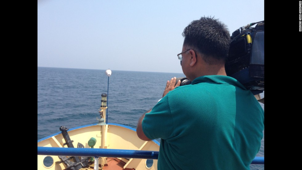 """A sail through the Andaman sea with CNN cameraman Rajesh Mishra, from where India launched its search efforts for the lost plane MH370."" By CNN's Harmeet Shah Singh, March 16.  Follow Harmeet on Instagram at <a href=""http://instagram.com/harmeetshahsingh"" target=""_blank"">instagram.com/harmeetshahsingh</a>."