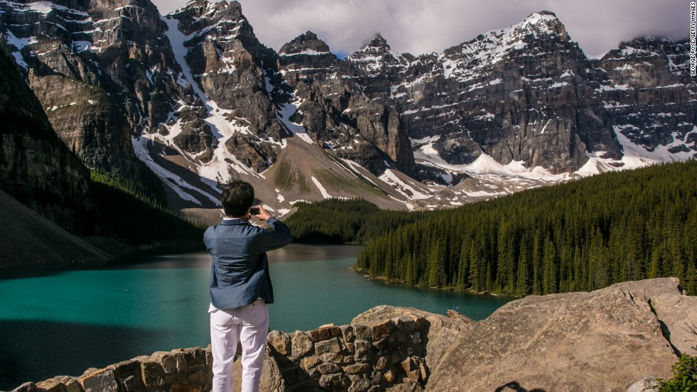 "<strong>Canada</strong> is the sixth-happiest country in the world. <a href=""http://www.pc.gc.ca/eng/pn-np/ab/banff/index.aspx"" target=""_blank"">Banff National Park</a> may be one of the reasons why. Canada's oldest national park spans more than 2,500 square miles of mountains, glaciers, forests and lakes in Alberta."