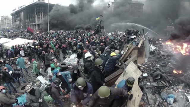 The deadly day that changed Kiev