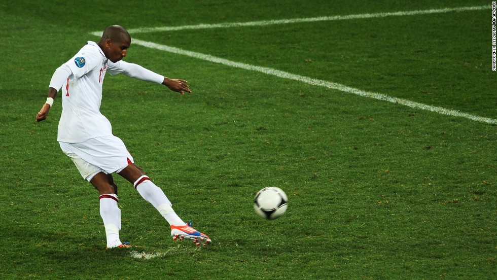 England internationals Ashley Young (pictured) and Ashley Cole were both racially abused on Twitter after missing penalties in the national team's loss to Italy at Euro 2012.