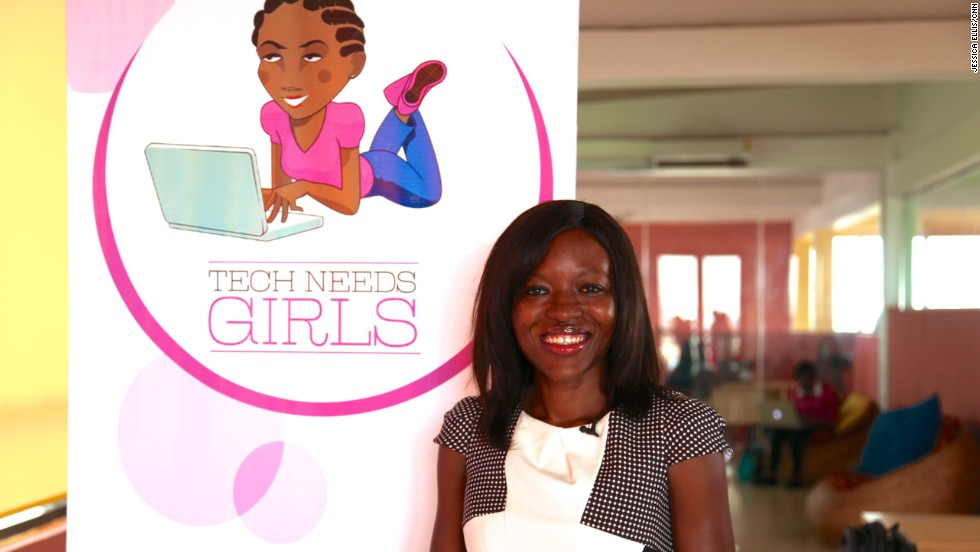 Regina Agyare is the founder of Soronko Solutions, a software development company in Accra, Ghana's capital.