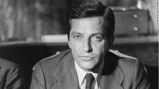 Adolfo Suarez, pictured here in 1977.