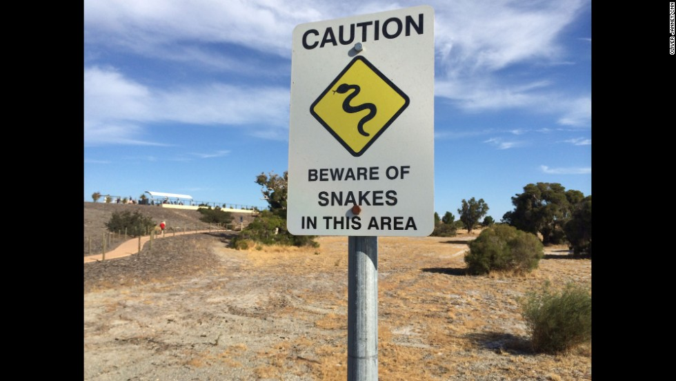 """Sign at a viewing area outside Perth International airport, where I'm staking out a U.S. Navy P-8."" By CNN's Oliver Janney, March 23.  Follow Oliver on Instagram at <a href=""http://Follow Will on Instagram at instagram.com/oliverjcnn"" target=""_blank"">instagram.com/oliverjcnn</a>."