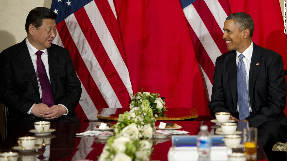 Obama and Chinese President Xi Jinping meet in The Hague, Netherlands, on March 24 ahead of the Nuclear Security Summit.