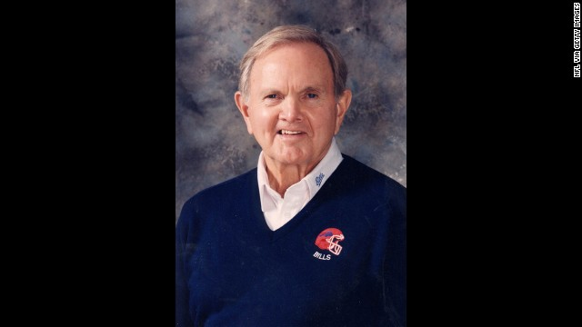 Upon forming the Buffalo Bills in 1959, Ralph C. Wilson Jr. became one of the co-founders of the American Football League.