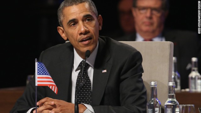 U.S. President Barack Obama speaks at the closing session of the 2014 Nuclear Security Summit on March 25, 2014 in The Hague, Netherlands. Leaders from around the world have come to discuss matters related to international nuclear security, though the summit is overshadowed by recent events in Ukraine.