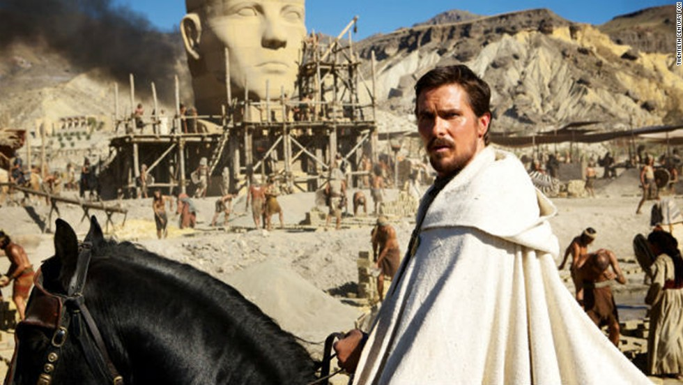 "Christian Bale plays Moses in the new film version of the Bible's Book of Exodus. Directed by Ridley Scott, some critics say the movie ""whitewashes"" the Bible."