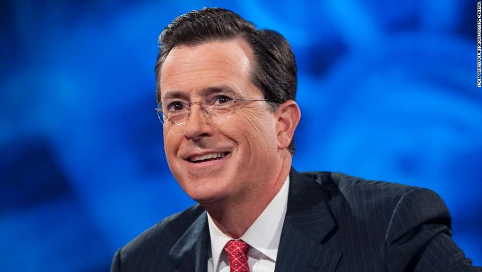 Colbert to succeed Letterman as host of 'The Late Show'