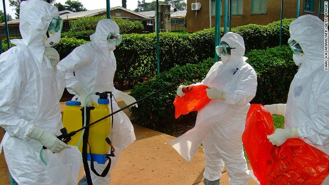 Doctors work to isolate Ebola outbreak