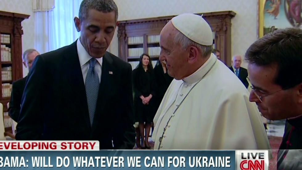 Obama warns against over-promising on Ukraine response