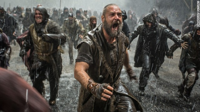 """Noah"" stars Russell Crowe as the biblical figure."