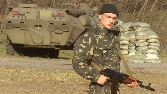 Ukrainian military buildup on the border