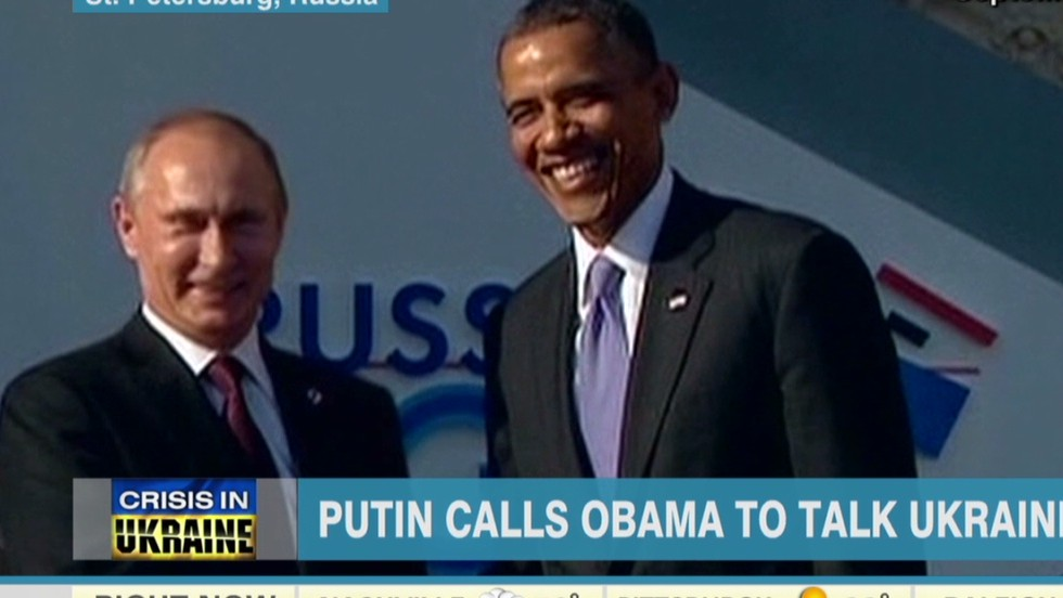 White House: Putin, Obama discuss possible 'diplomatic solution' in Ukraine