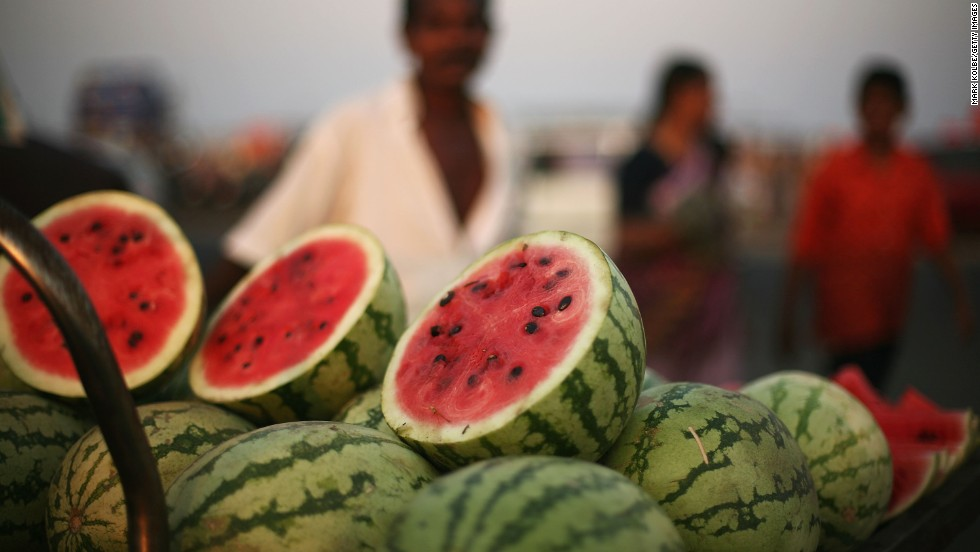 Ragweed allergy? You might also react to watermelon, as well as cantaloupe and honeydew melons.