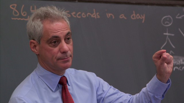 Rahm Emanuel: Losing finger changed me
