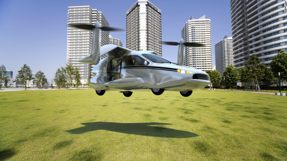 TF-X is designed as a four-seat, plug-in hybrid electric flying car that's capable of performing fly-by-wire vertical take offs and landings.