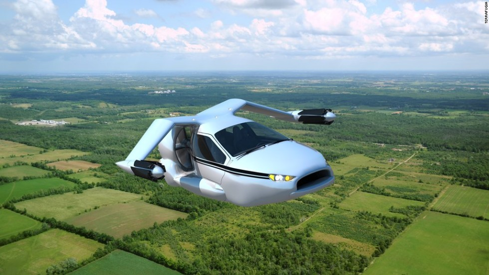 What will personal transportation look like in the future? Maybe like this, if aerospace company Terrafugia succeeds in its efforts to build TF-X.